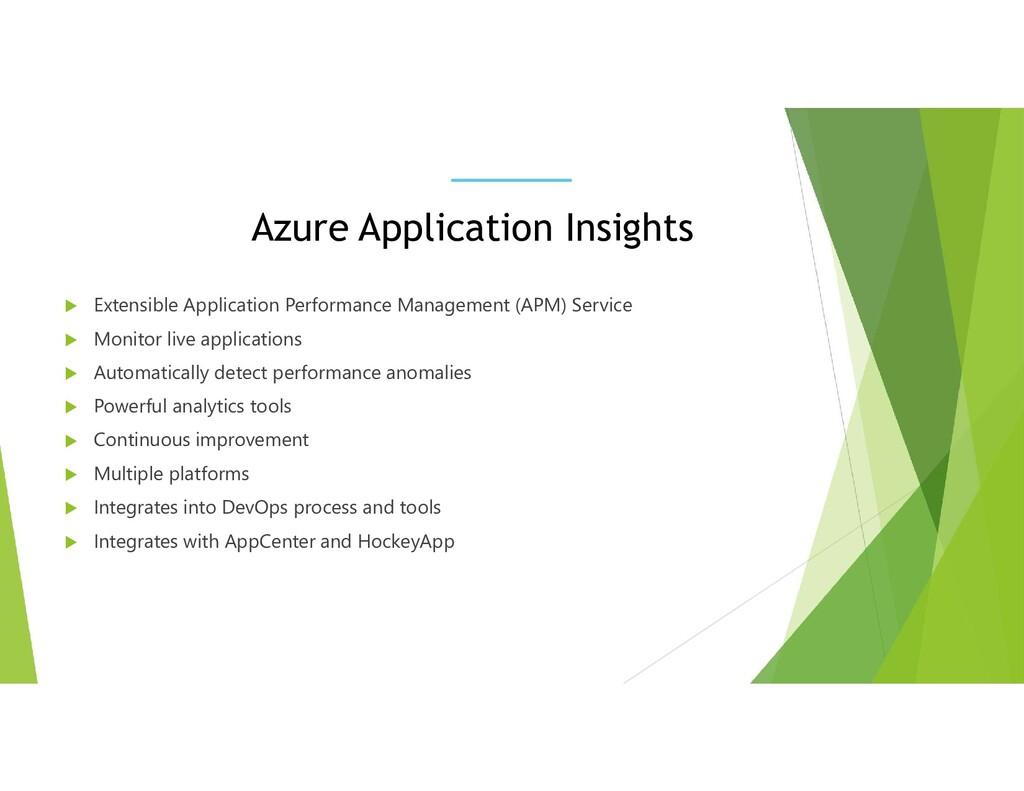 Azure Application Insights  Extensible Applica...