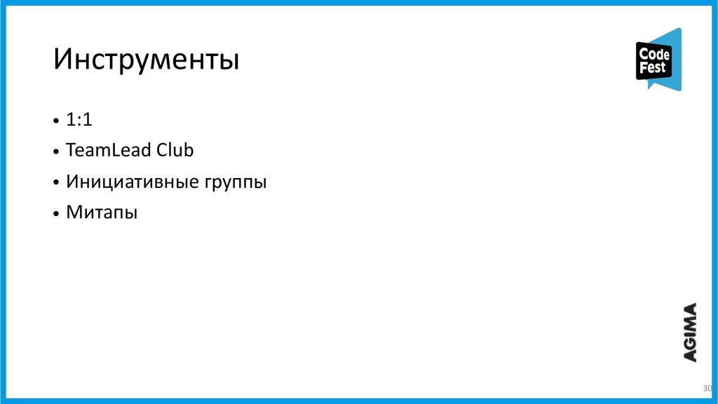 Инструменты • 1:1 • TeamLead Club • Инициативны...