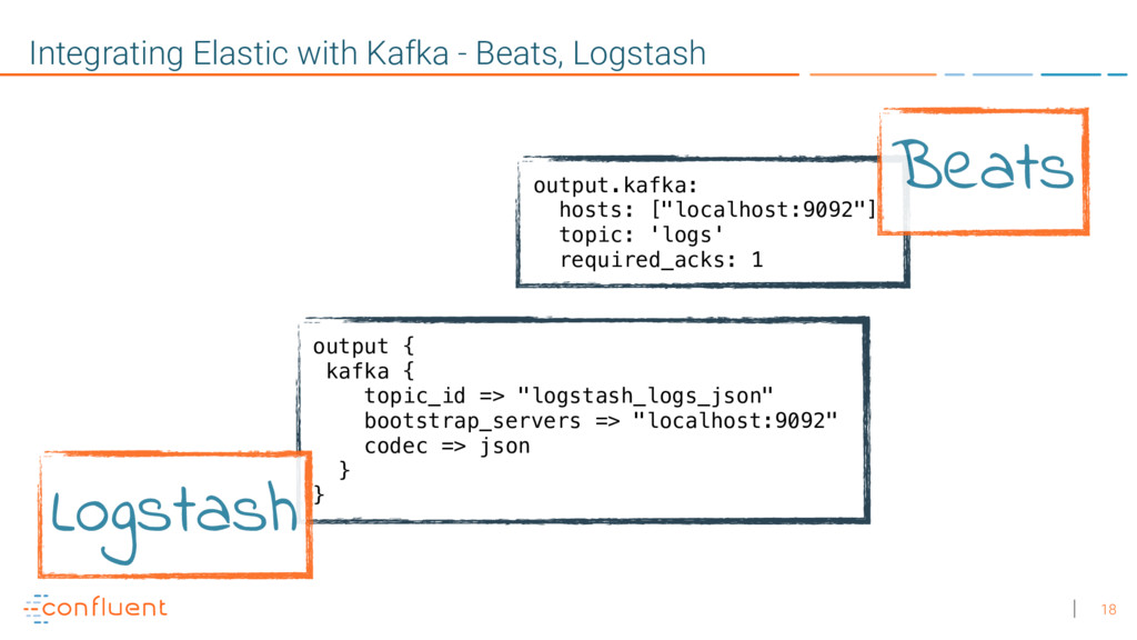 18 Integrating Elastic with Kafka - Beats, Logs...