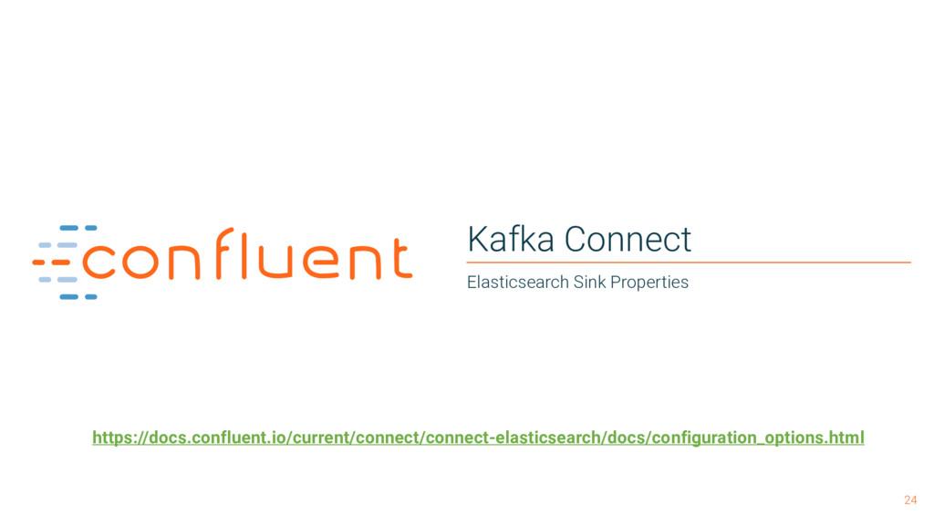 24 Kafka Connect Elasticsearch Sink Properties ...