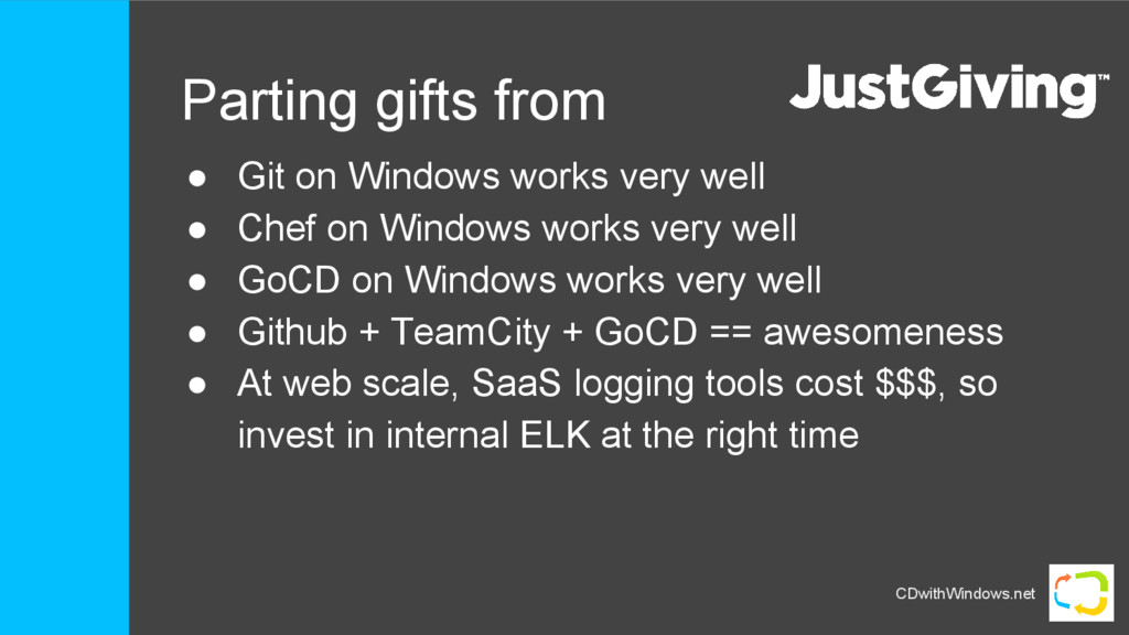 CDwithWindows.net Parting gifts from ● Git on W...