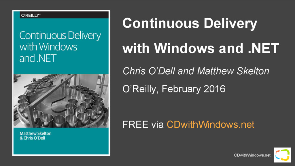 CDwithWindows.net Continuous Delivery with Wind...