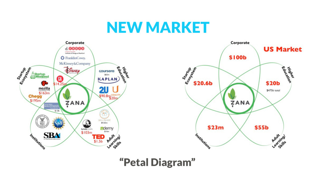 "NEW MARKET ""Petal Diagram"""