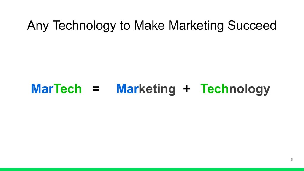 Any Technology to Make Marketing Succeed Market...