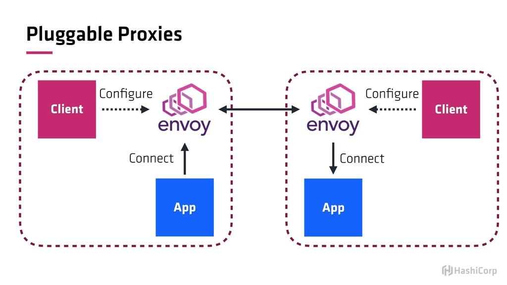 Pluggable Proxies Client App Configure Connect C...