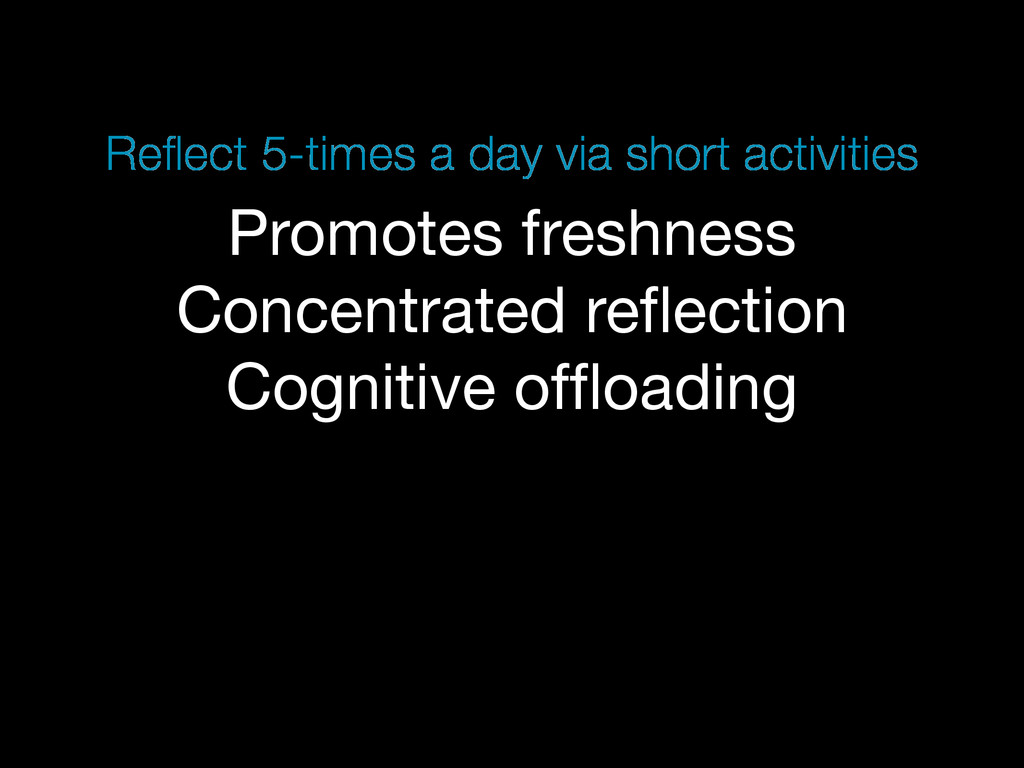 Promotes freshness Concentrated reflection Cogni...