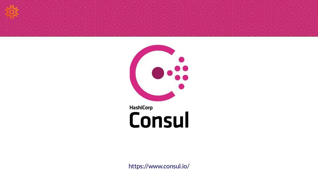 https://www.consul.io/