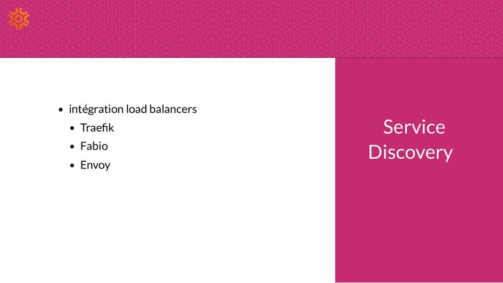 intégration load balancers Trae k Fabio Envoy S...