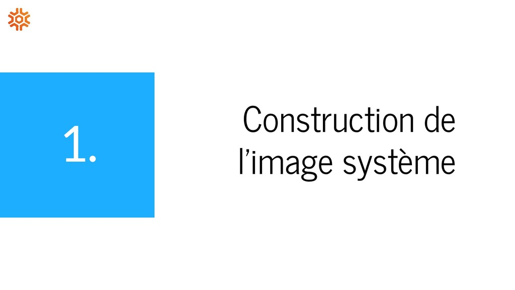 1. Construction de l'image système