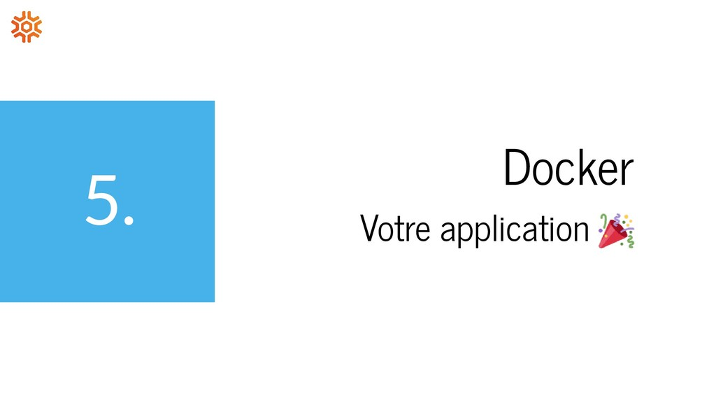 5. Docker Votre application