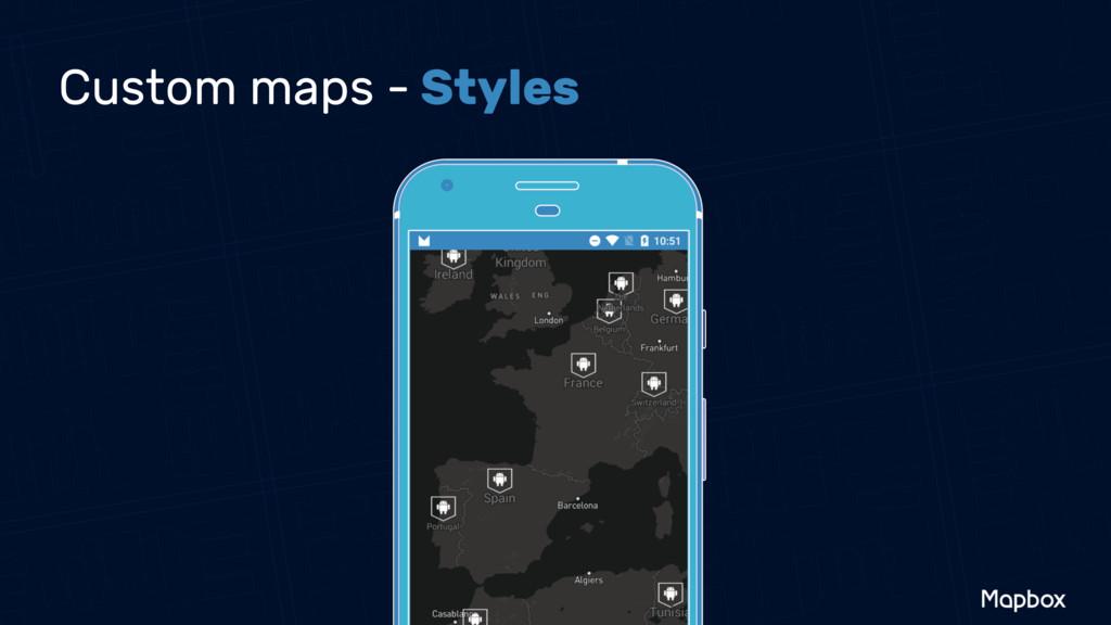 Custom maps - Styles