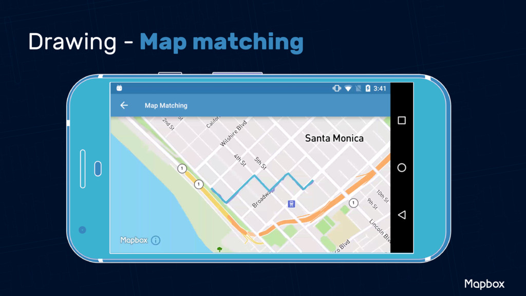 Drawing - Map matching