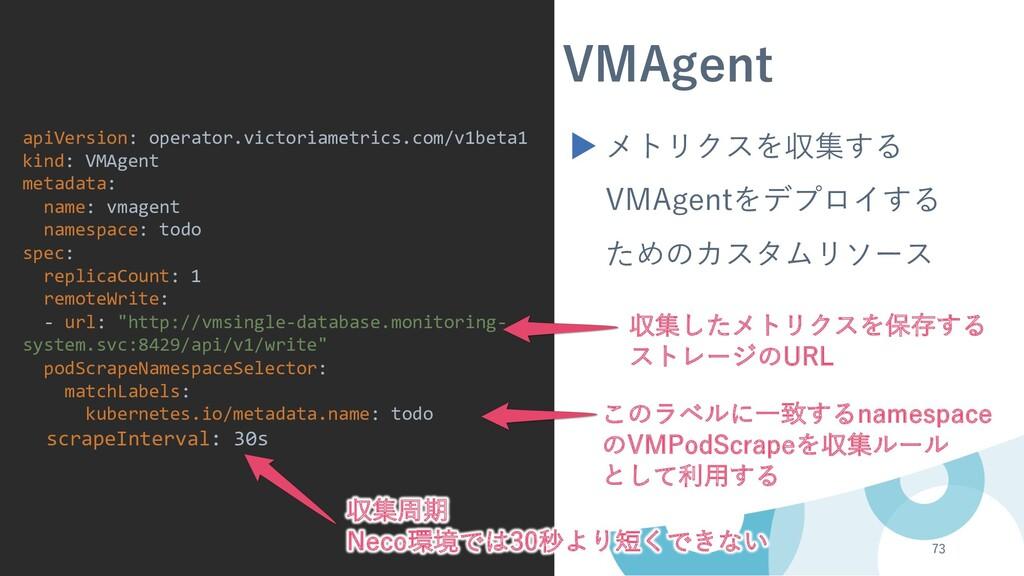 73 apiVersion: operator.victoriametrics.com/v1b...