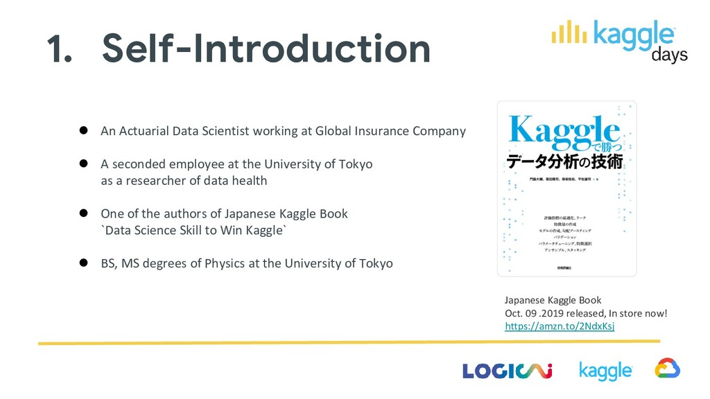 Japanese Kaggle Book Oct. 09 .2019 released, In...