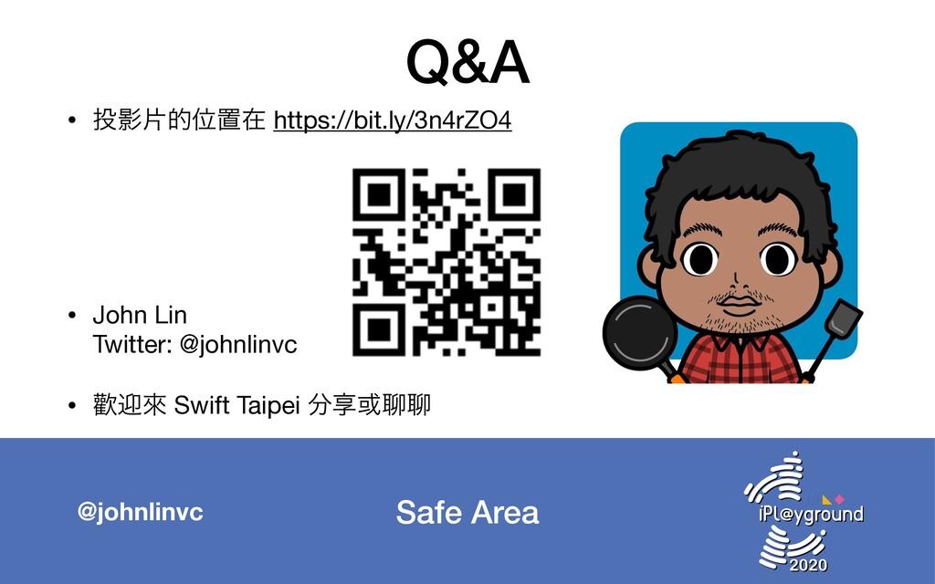 Safe Area @johnlinvc Q&A • ӨยతҐஔࡏ https://bit....