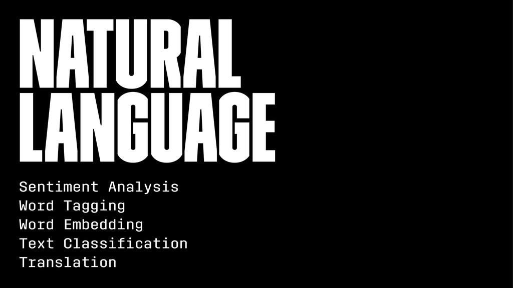 Natural Language Sentiment Analysis Word Taggin...