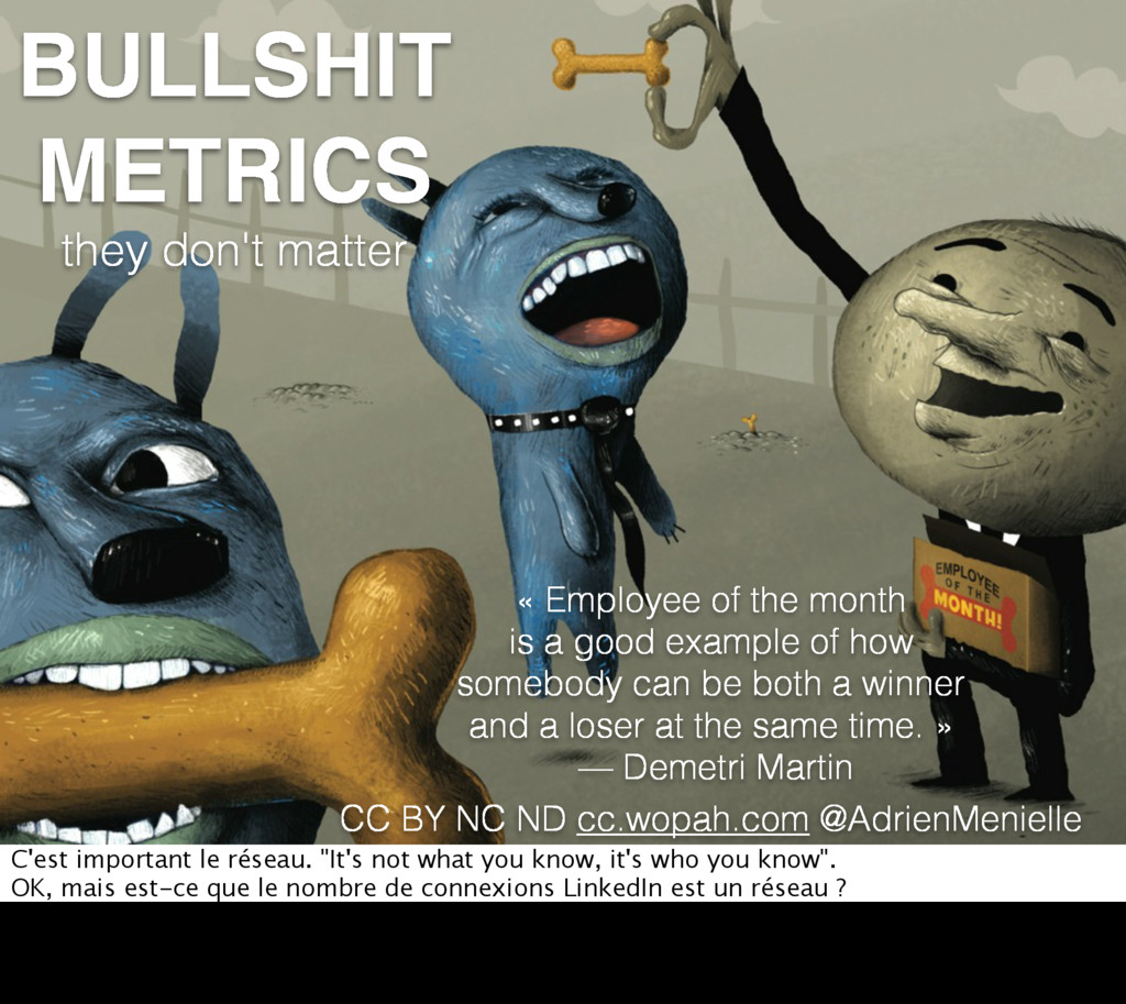 BULLSHIT METRICS they don't matter « Employee o...