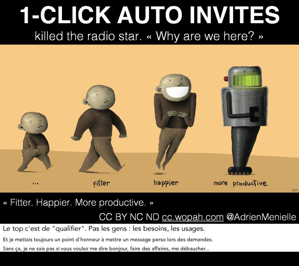 1-CLICK AUTO INVITES killed the radio star. « W...