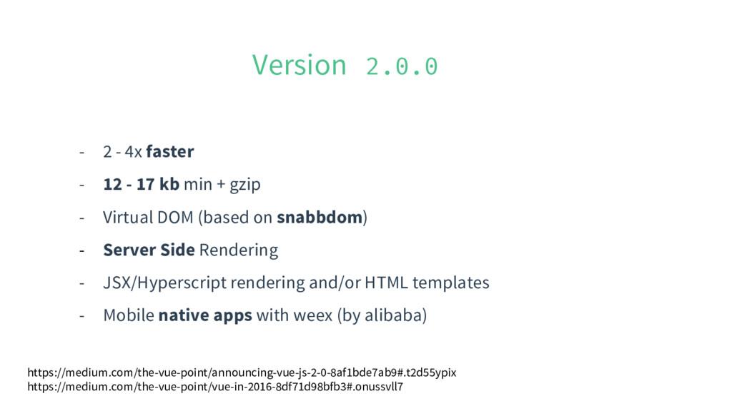 Version 2.0.0 - 2 - 4x faster - 12 - 17 kb min ...