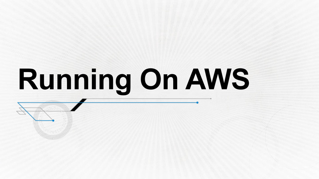 Running On AWS