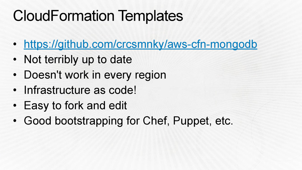 CloudFormation Templates • https://github.com/c...