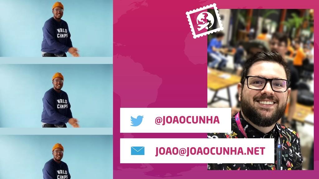 JOAO@JOAOCUNHA.NET @JOAOCUNHA