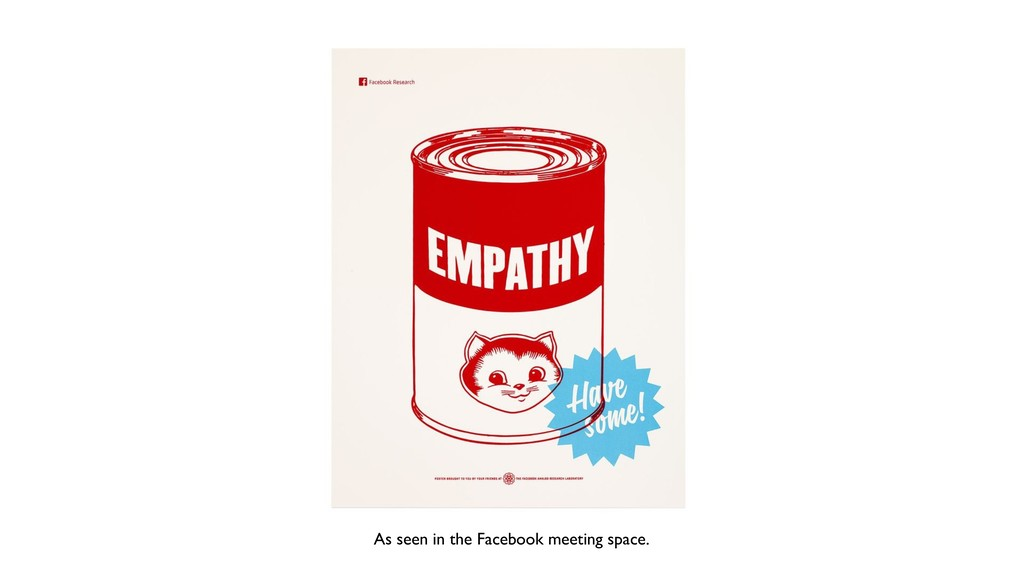 As seen in the Facebook meeting space.