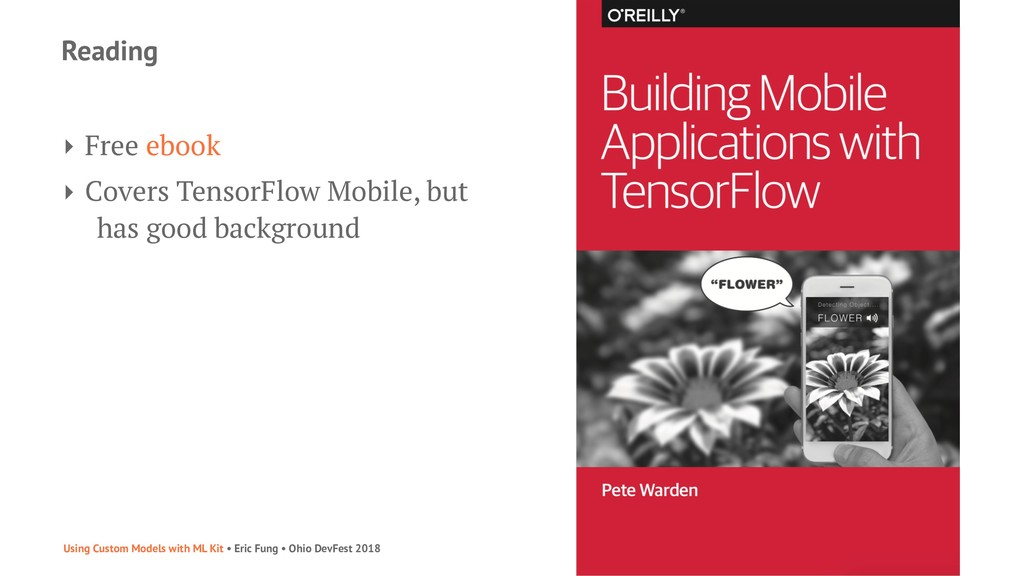 Reading ‣ Free ebook ‣ Covers TensorFlow Mobile...