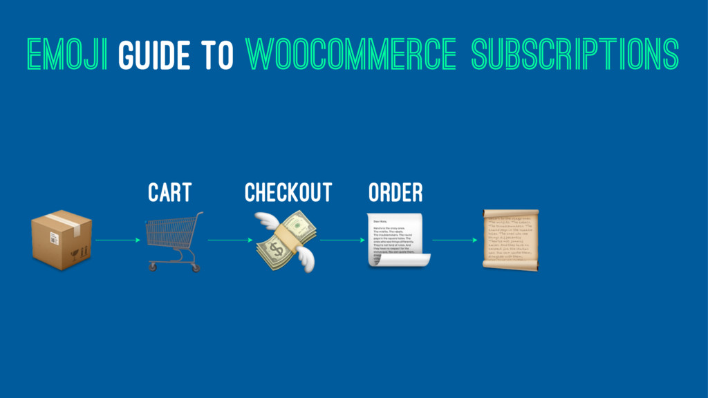 EMOJI GUIDE TO WOOCOMMERCE SUBSCRIPTIONS