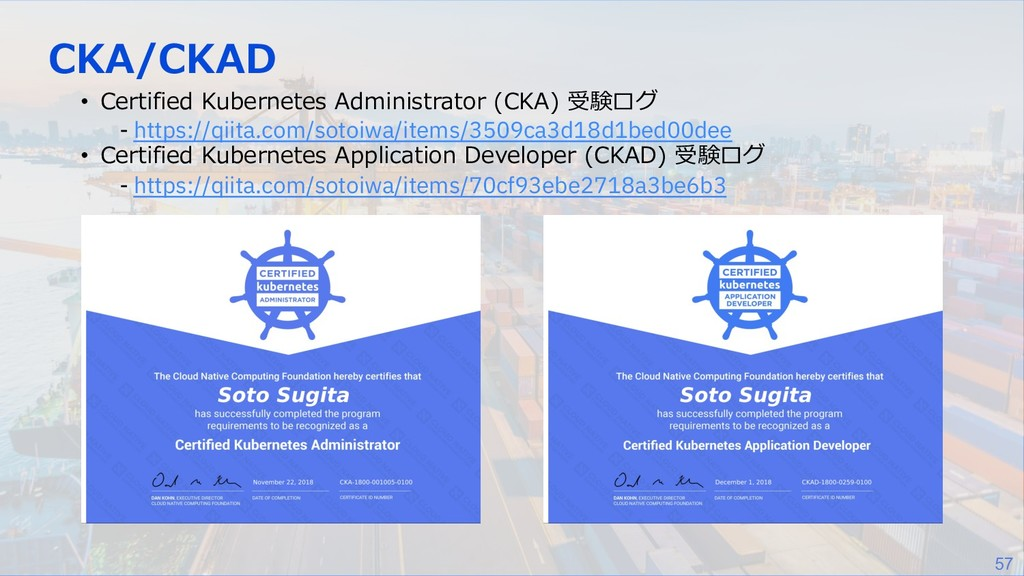 57 CKA/CKAD • Certified Kubernetes Administrato...