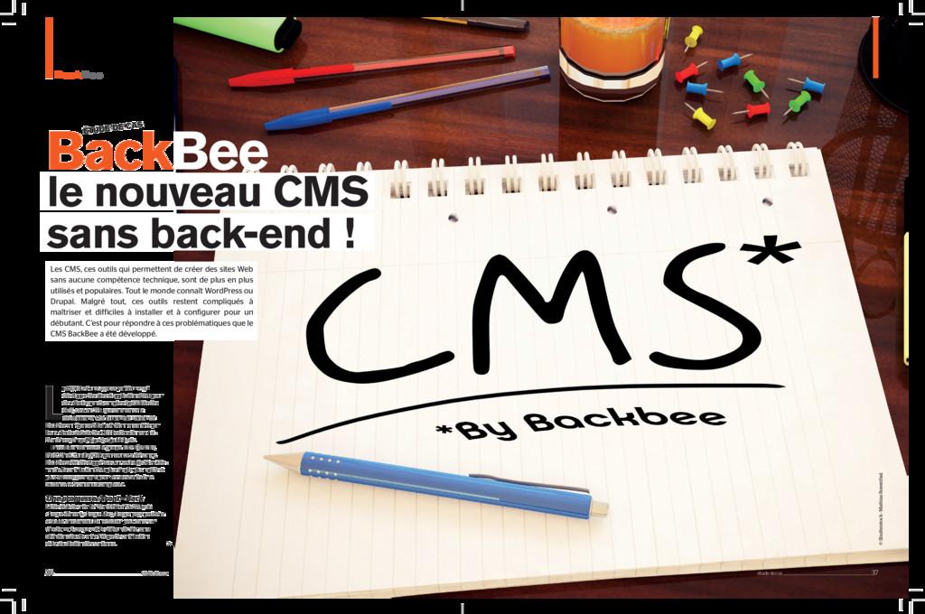 BackBee BackBee Les CMS, ces outils qui permett...