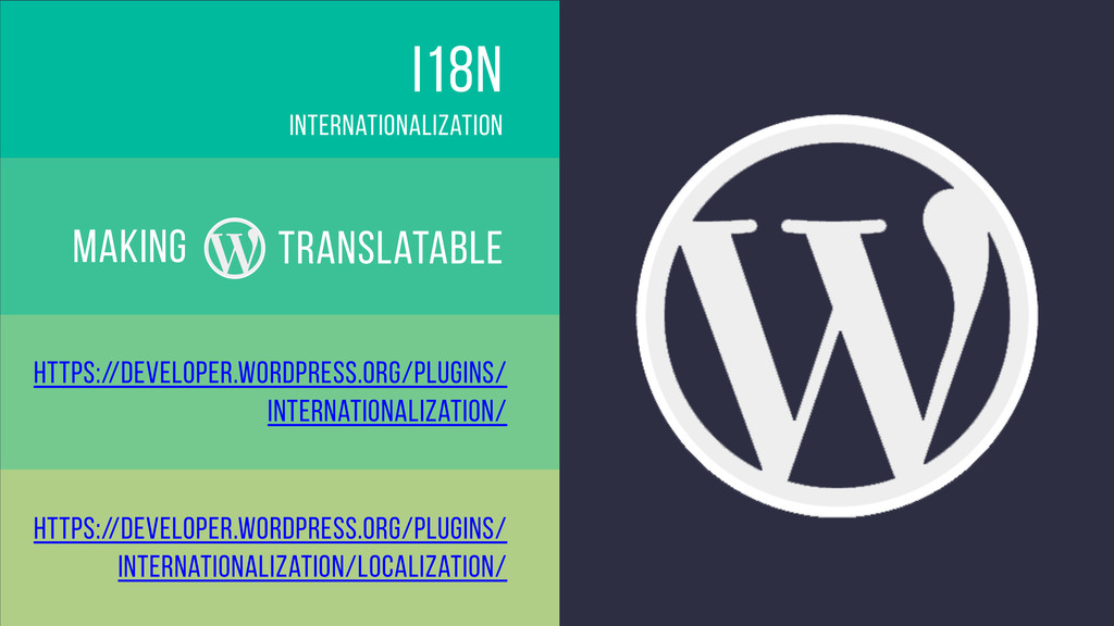i18n translatable Internationalization making h...