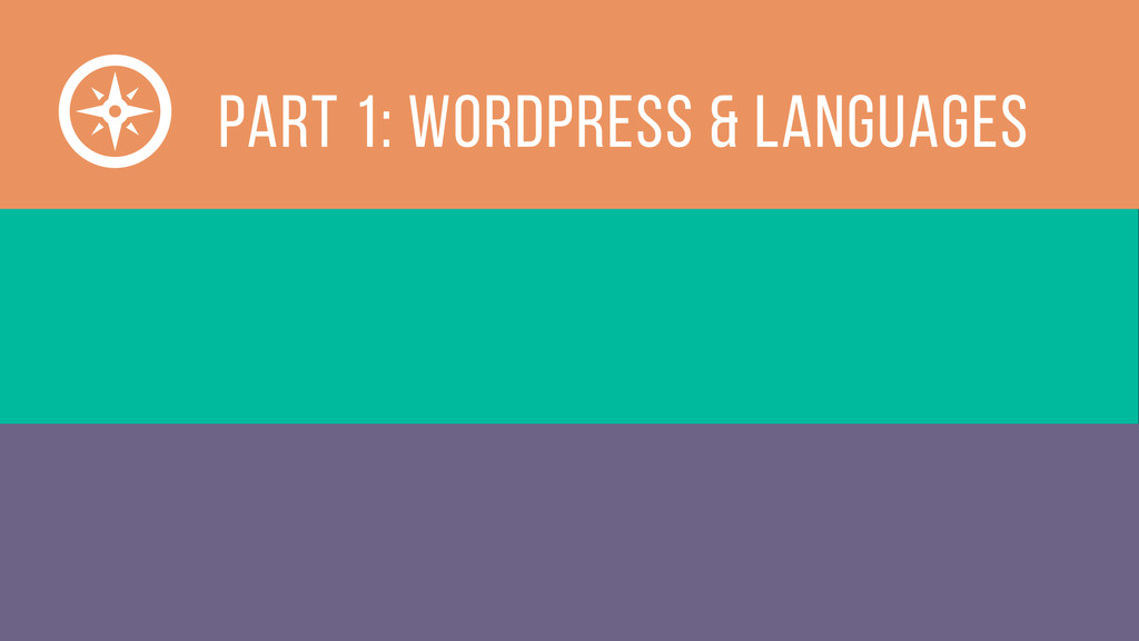 Part 1: WordPress & Languages