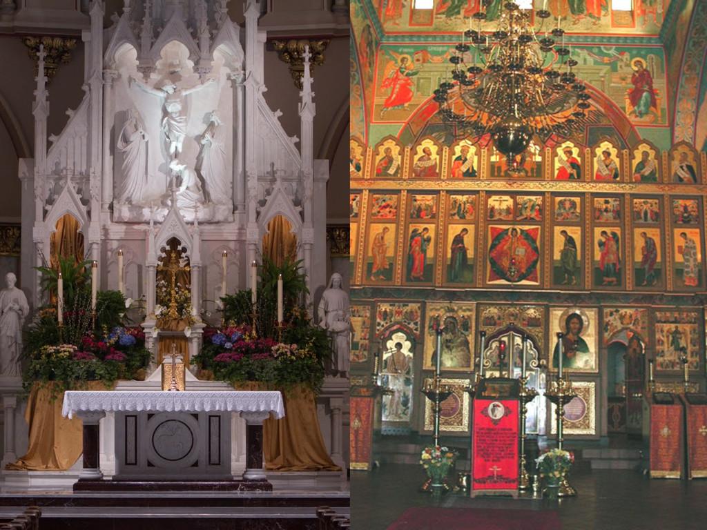 Book on an altar, St. Joseph's...
