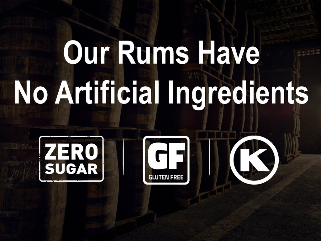 Our Rums Have No Artificial Ingredients