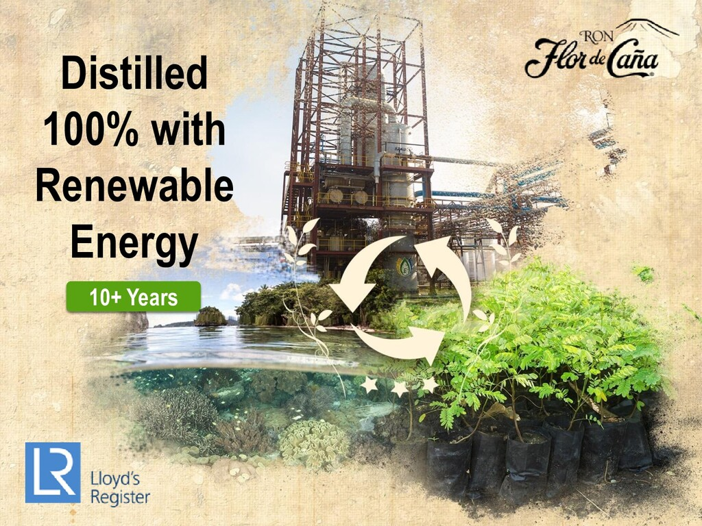 Distilled 100% with Renewable Energy 10+ Years