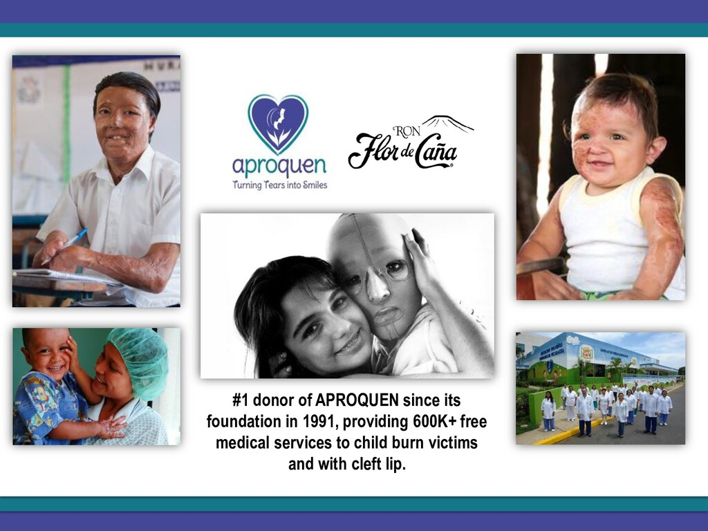 #1 donor of APROQUEN since its foundation in 19...