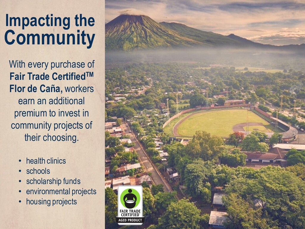 With every purchase of Fair Trade CertifiedTM F...