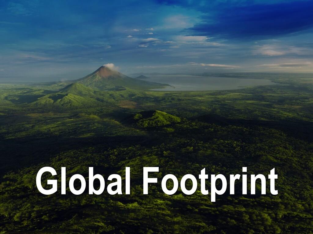 Global Footprint
