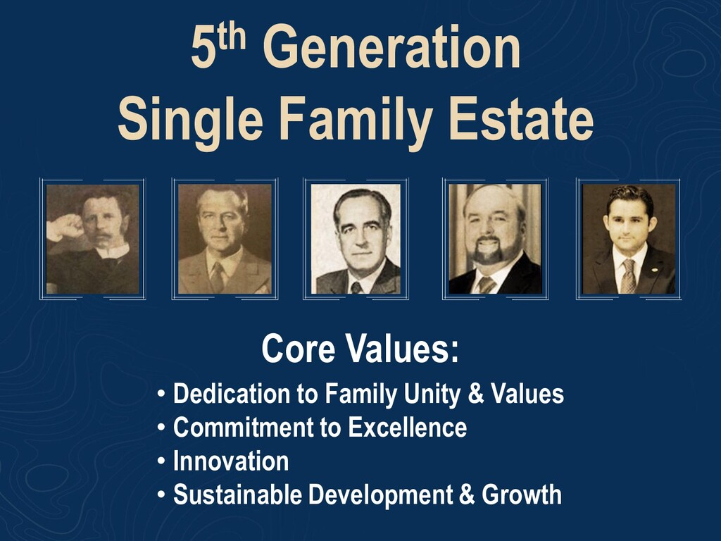 5th Generation Single Family Estate • Dedicatio...