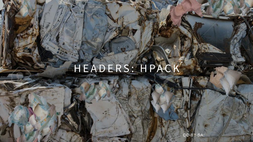 H E A D E RS : H PAC K CC-BY-SA: