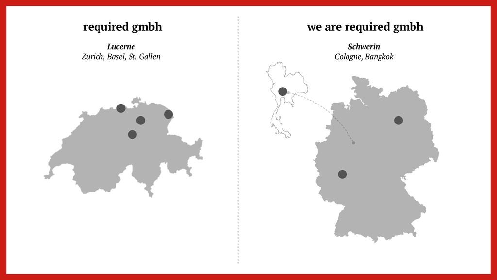 Lucerne   Zurich, Basel, St. Gallen Schwerin   ...