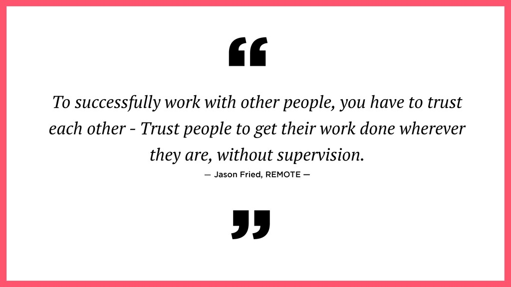To successfully work with other people, you hav...