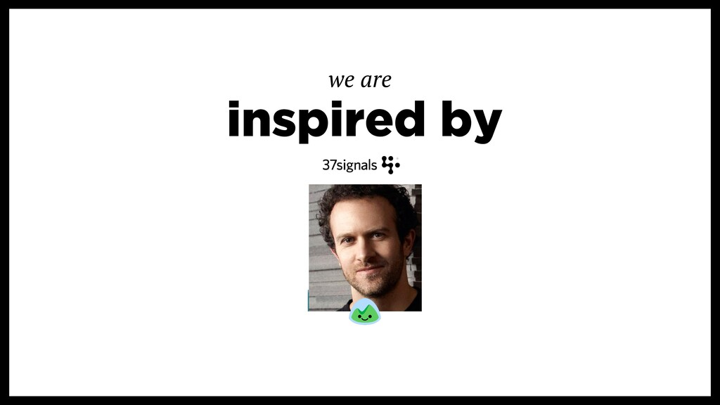 inspired by we are