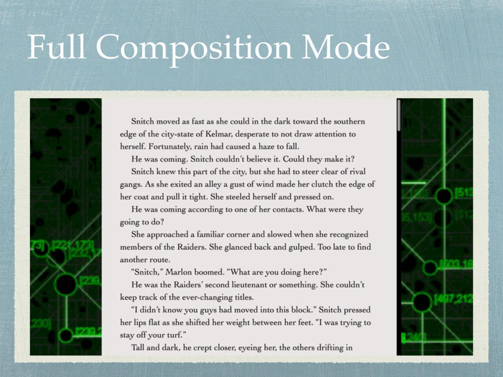 Full Composition Mode