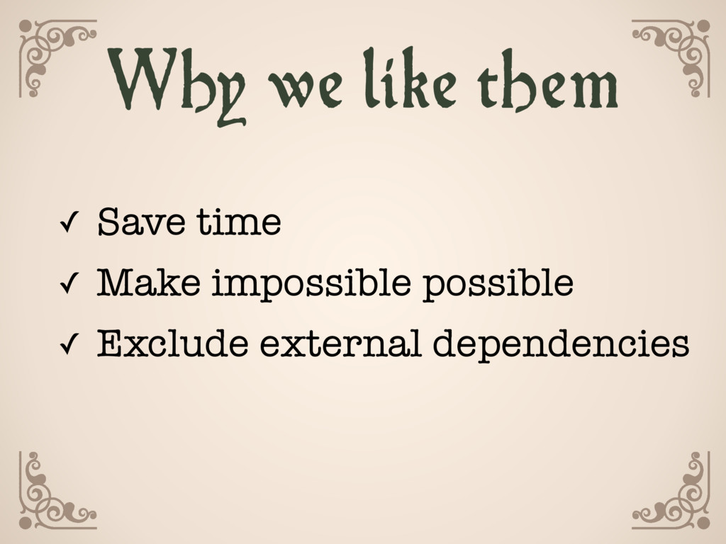 ✓ Save time ✓ Make impossible possible ✓ Exclud...