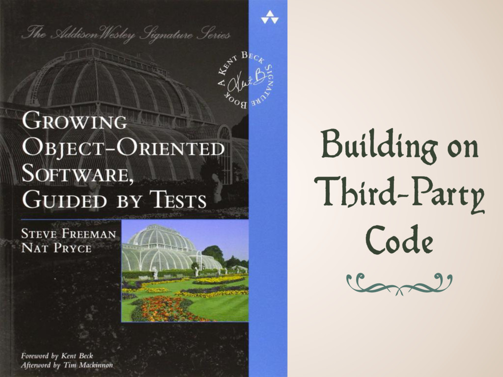 Building on Third-Party Code