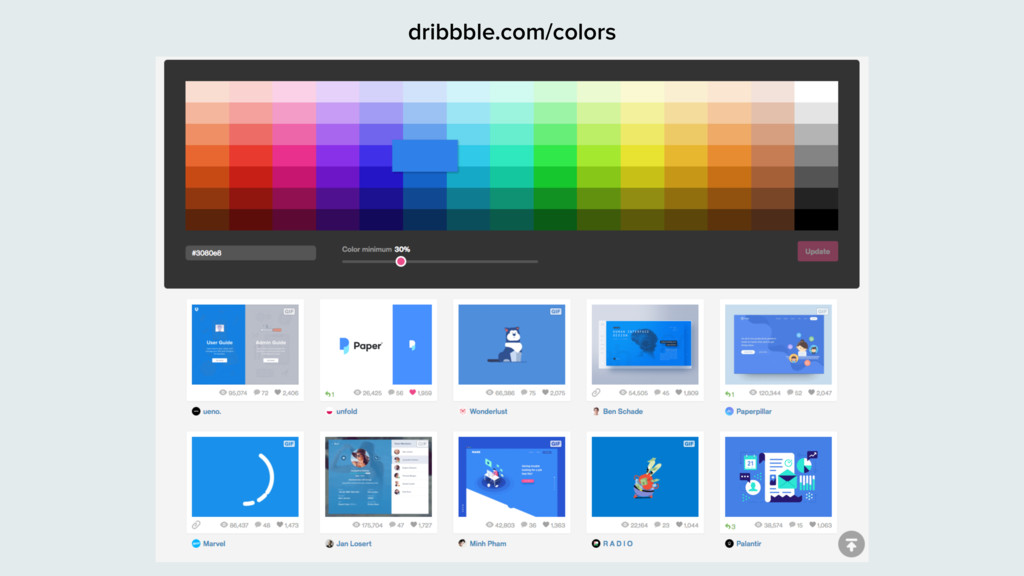 dribbble.com/colors