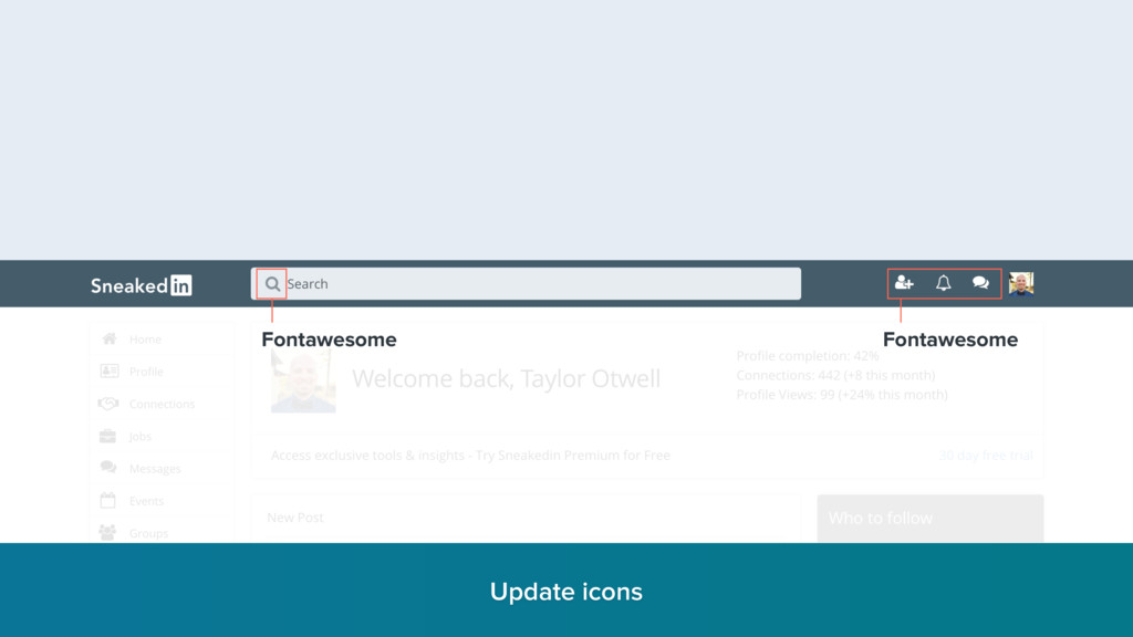 Fontawesome Fontawesome Update icons