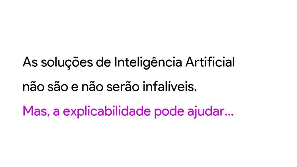 As soluções de Inteligência Artificial não são ...